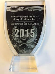 Envirotac - 2015 Coachella Valley Business Hall of Fame Award